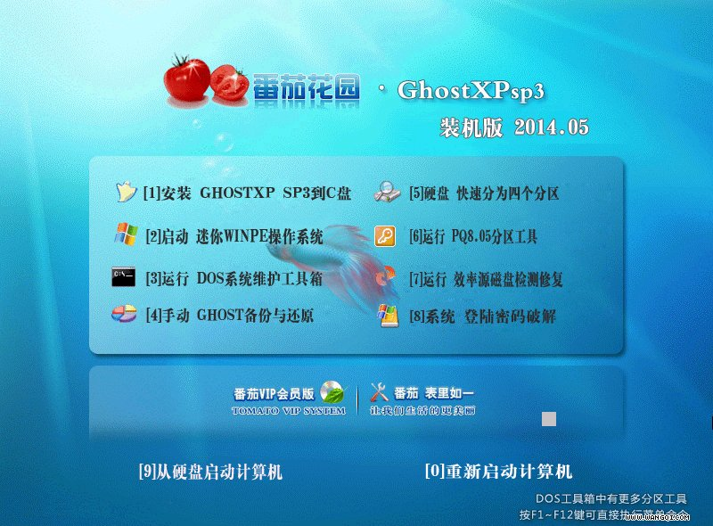 番茄花园 GHOST XP SP3 安全增